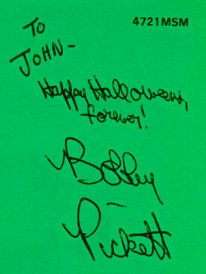 Monster Mash Autograph