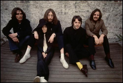 Beatles with Yoko Ono 1969