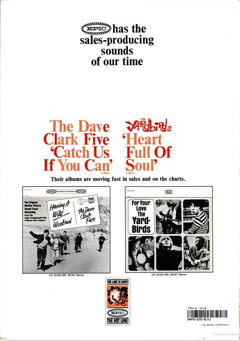 Dave Clark Five Ad